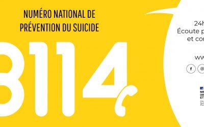 Lancement du 3114, numéro national de prévention du suicide